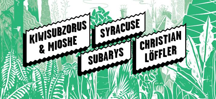 Bienvenue Printemps !  #3 / Christian Löffler / Syracuse / Kiwisubzorus & Mioshe / Subarys - avril 2013 @ Theâtre de Poche - Hédé