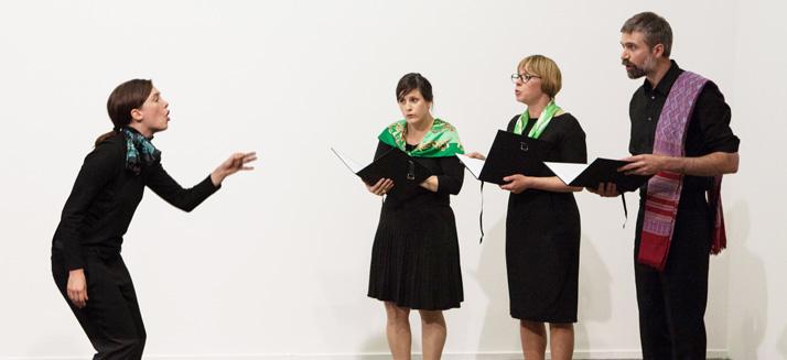Chorale @ Bonus #3 - Le Festival du Théâtre de Poche - Hédé - 2013