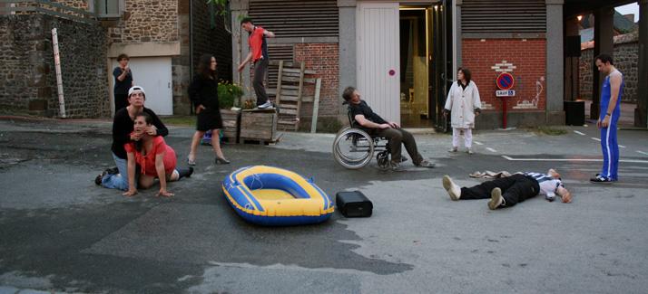 L'Heure où nous ne savions rien l'un de l'autre @ Bonus #5 - Le Festival du Théâtre de Poche - 21 - 22 - 23 août 2015
